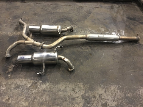SUBARU LEGACY 05/09 SPEC B HKS MUFFLER WITH MID PIPE