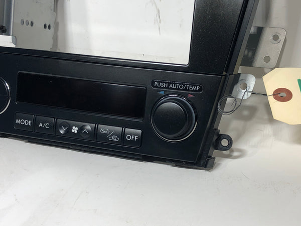 SUBARU Genuine LEGACY Outback Double DIN Audio Panel Fascia BP BL Black 72311AG