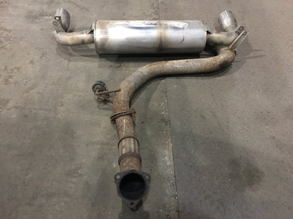 TOYOTA MR2 SW20 TURBO MUFFLER