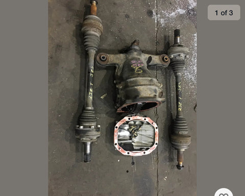 LEXUS GS300 OR TOYOTA ARISTO JZX161 REAR DIFFERENTIAL NON LSD