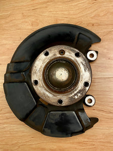 BMW Z3 E36 Front Wheel Hub Drivers Left + King Pin Spindle + Protection Plate 31226757024