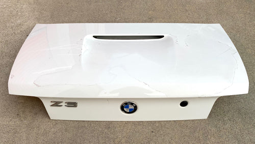 BMW Z3 E36 Trunk Lid Alpine White USED 41620307011 BMW PART# 1620307011