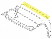 Load image into Gallery viewer, BMW Z3 E36 Roof  REAR Bar Hoop Folding Top Frame    BMW PART # 54318397648