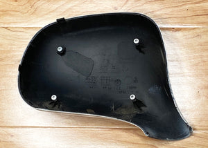 BMW Z3 E36 Drivers Mirror Housing Only fasters included White BMW PART # 51160016542