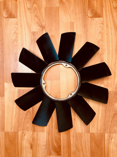 BMW Z3 E36 Engine Fan 11 Blade D=420MM  BMW Part# 11521712058
