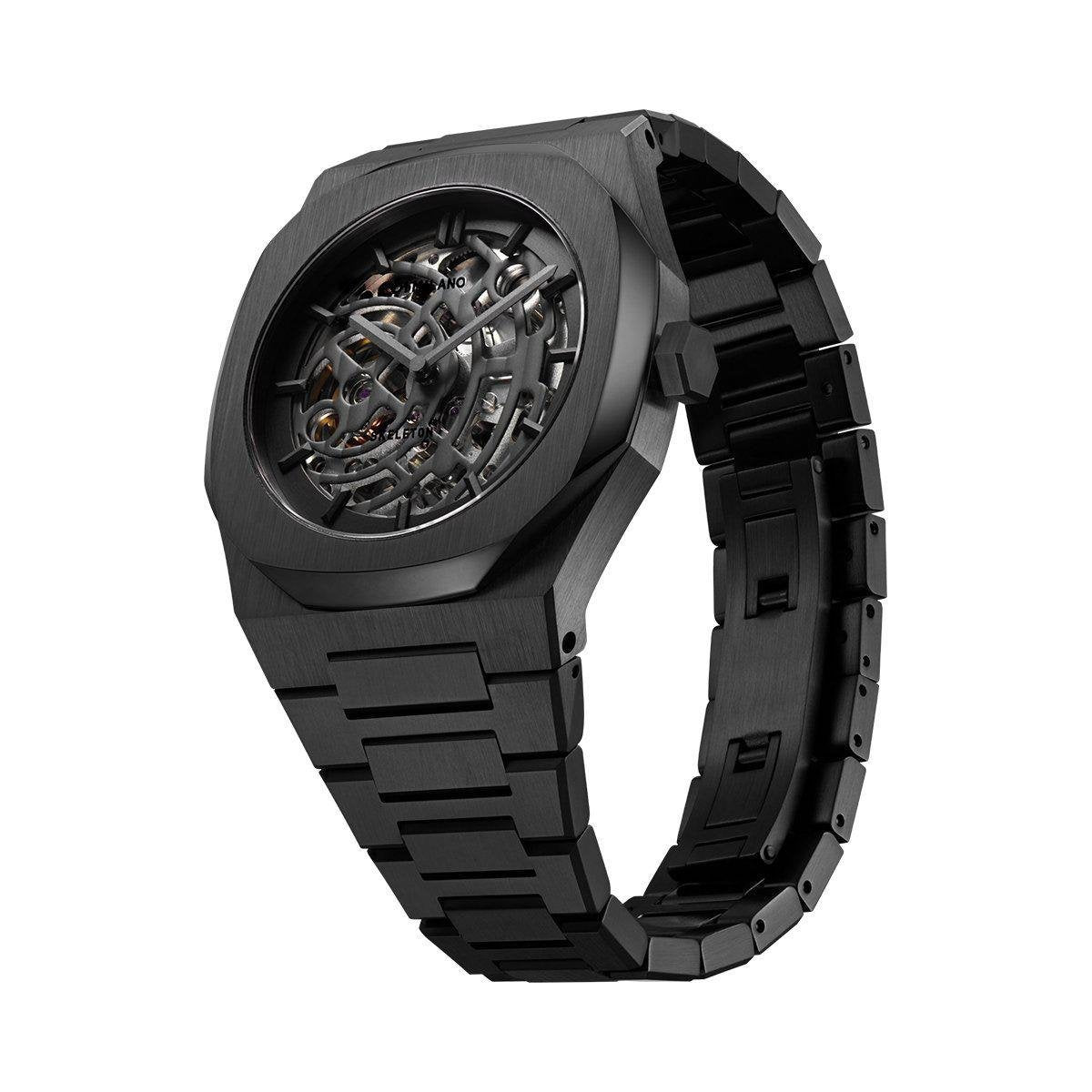 The long-awaited all-black model was released from the skeleton collection of NEWS-D1 MILANO.-principeprive