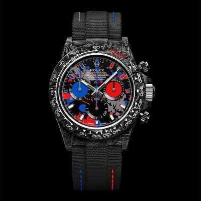 "Custom model ""MOTLEY 3S"" based on ROLEX DAYTONA is released by ""DIW"""