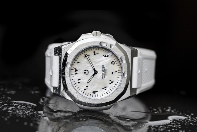 MOP EDITION using the mother of pearl is released to a clockface at NEWS-NUUN( noon by). -principeprive