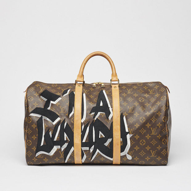 Keepall50 I'm a Luxury-MEDIUM RARE-principeprive