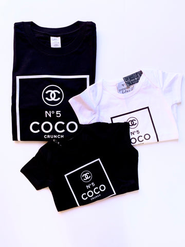 Coco Crunch Tees