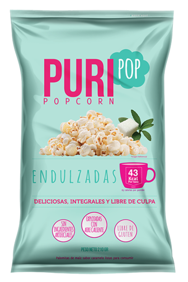 Cabritas Puripop Endulzadas Familiar (210gr)