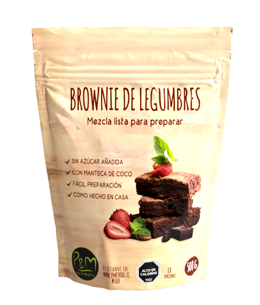 Mix Brownie legumbres PyM 500 grs