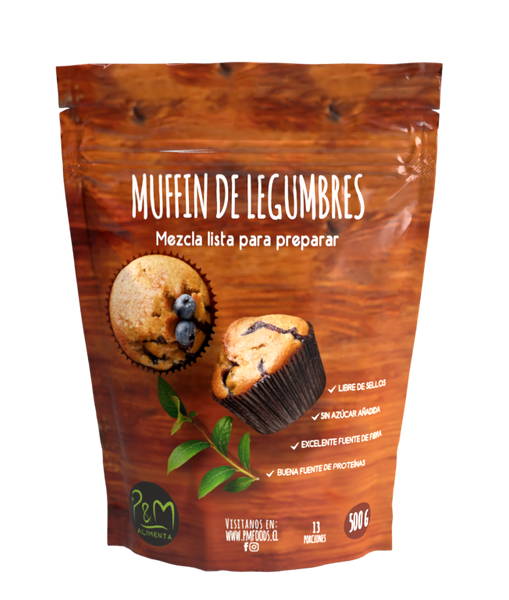Mix Muffin legumbres PyM 500 grs