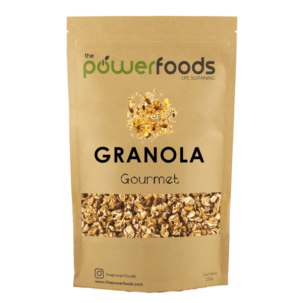 Granola Gourmet, 250 grs, The Powerfoods