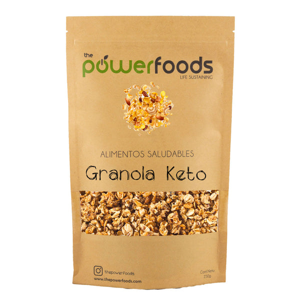 Granola Keto, 300 grs, The Powerfoods