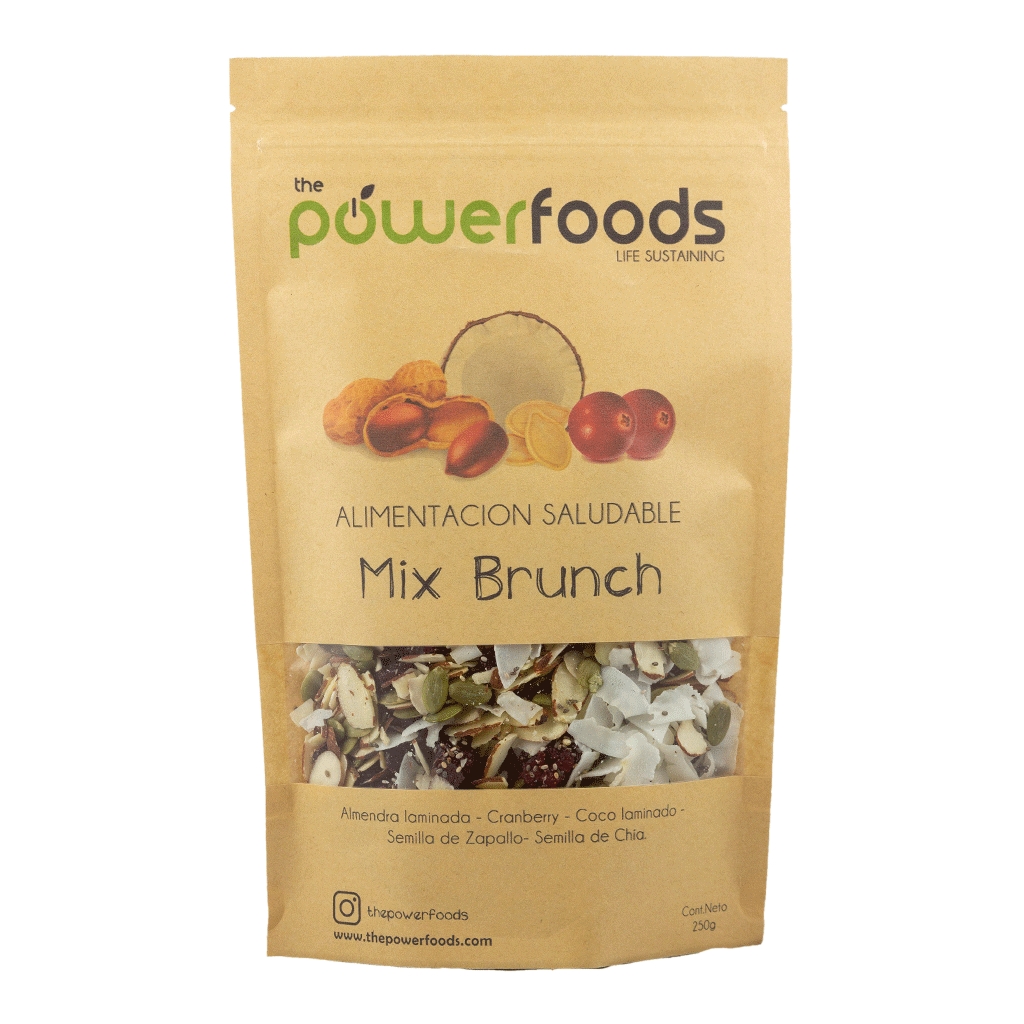 Mix Brunch 250gr, The Powerfoods