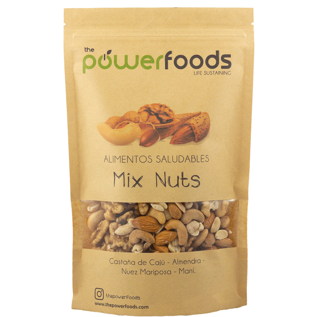 Mix Nuts 500gr, The Powerfoods