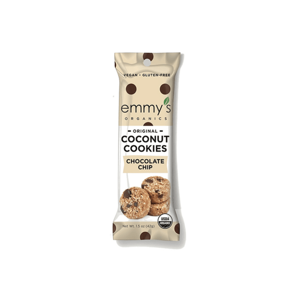 Galletas de Coco Emmys Chocolate Chip 42 grs