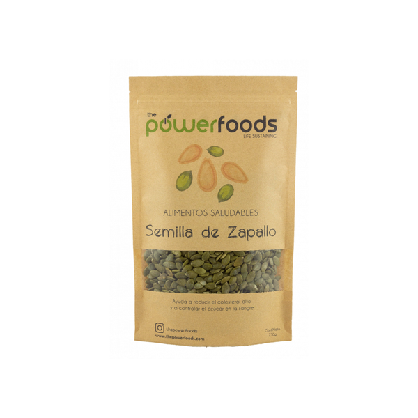 Semillas de Zapallo 250 grs. The Powerfoods