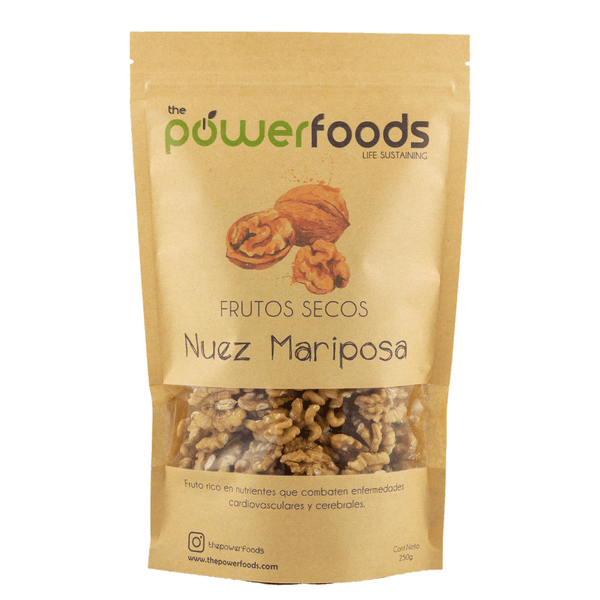 Nuez Mariposa 500gr, The Powerfoods