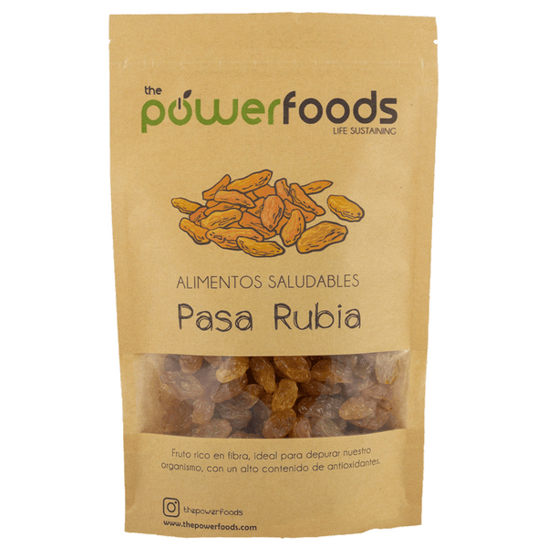 Pasa rubia 250gr, The Powerfoods
