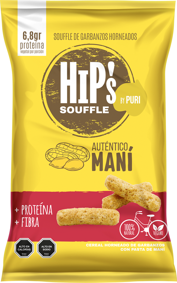 Suflitos de Mani Hips familiar