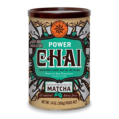 Té Chai Power Matcha David Rio