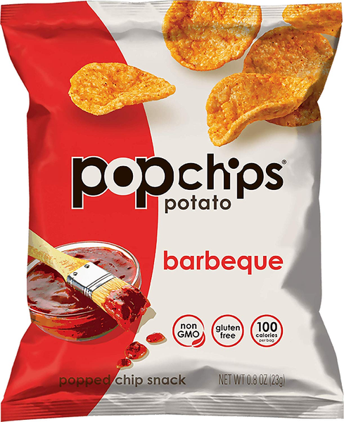 Papas Aireadas con sabor Barbeque 23 grs. Popchips