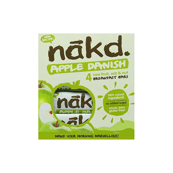 Barra de cereal Nakd Apple danish Pack 4 unidades