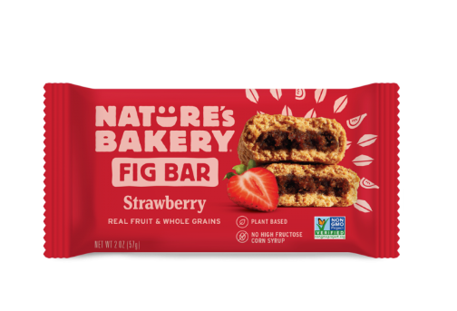 Barra Saludable Frutilla Fig Bar