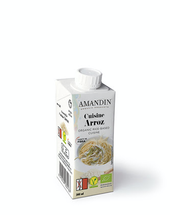 Crema Orgánica de Arroz 200 ml