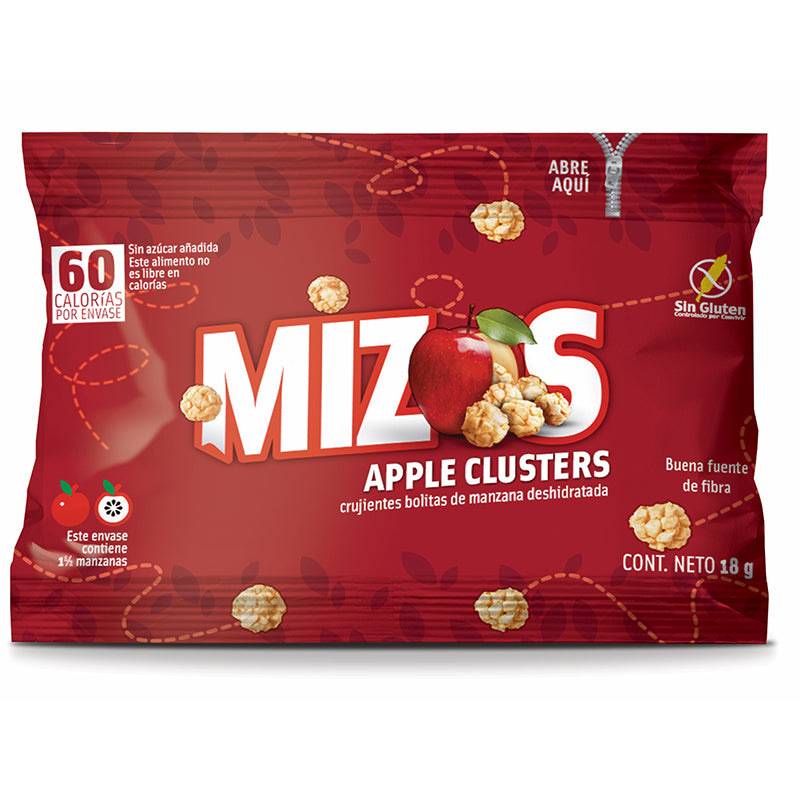 Mizos Apple Clusters Original 18 grs