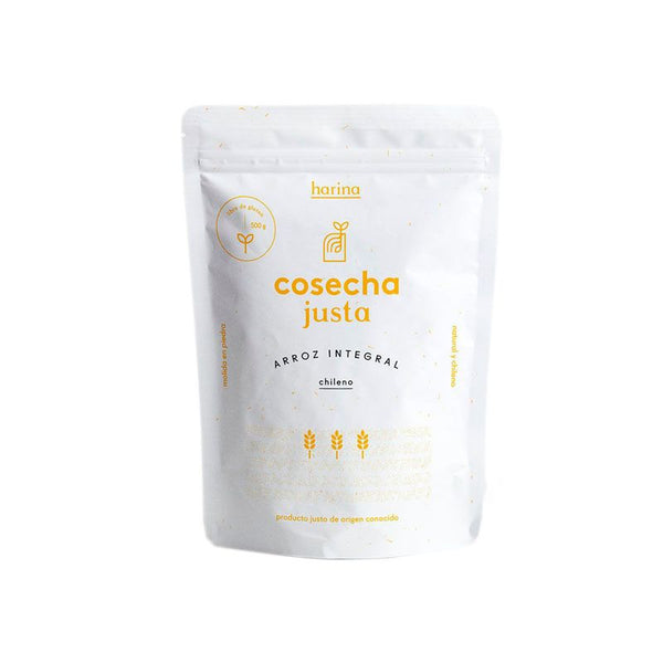 Harina de Arroz Integral Chileno 500 grs