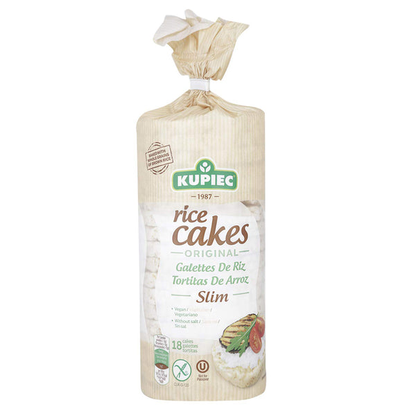 Galletas Arroz Natural Slim, 90 grs., Kupiec