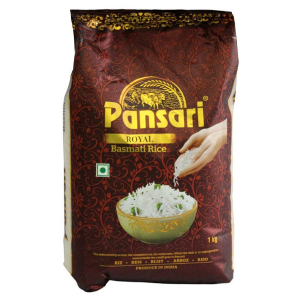 Arroz Basmati Royal, 1kg, Pansari