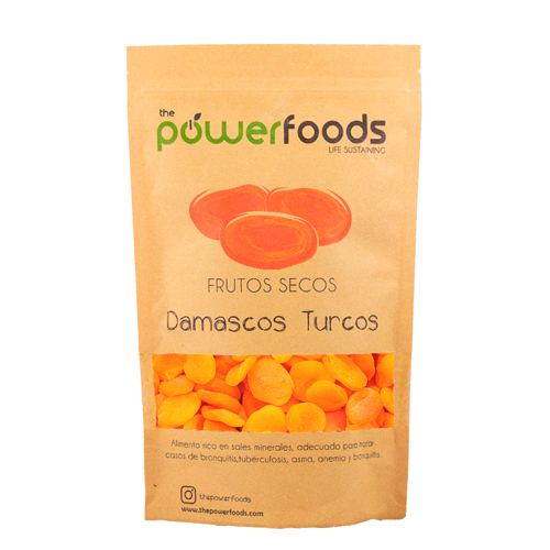 Damasco turco 250gr, The Powerfoods