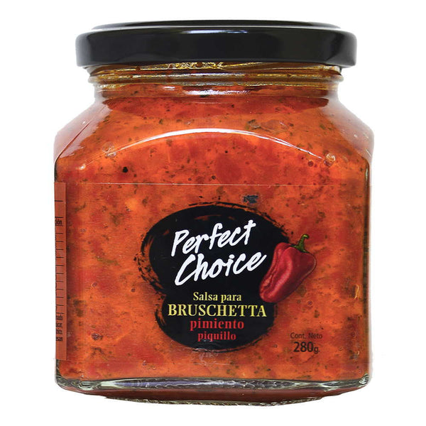 Bruschetta de Pimiento Piquillo, 280 grs. Perfect Choice