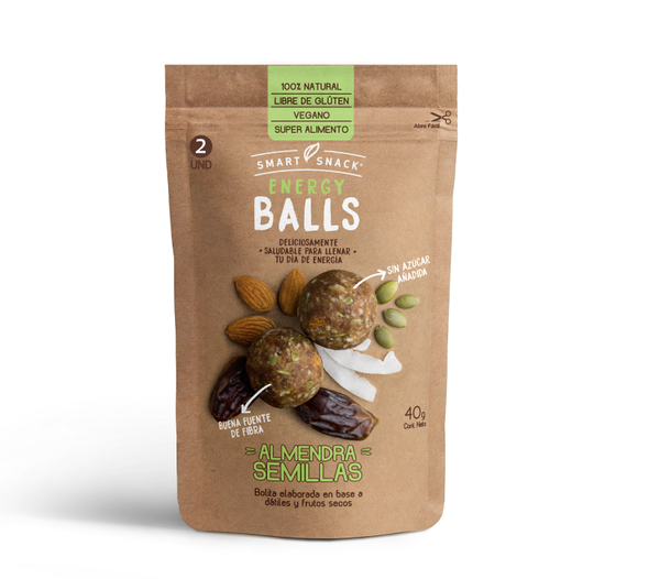 Energy Ball Semillas Almendra 40 grs