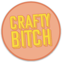 Crafty Bitch Sticker