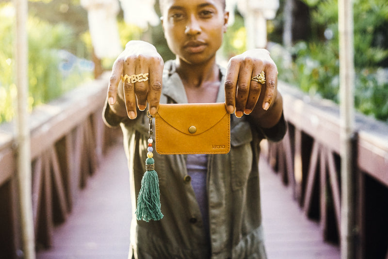 Kirana Handmade Leather Wallet