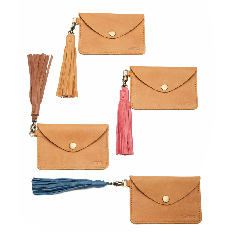 Accessories - Kirana Leather Tassels