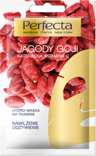 PERFECTA Hydro mask on fabric Goji berries 1pc