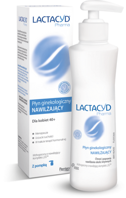 Intimate hygiene cosmetic LACTACYD PHARMA moisturizing liquid 250ml