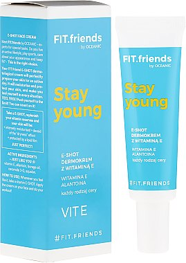 AA FitFriends Stay Young EShot Dermocream with vitamin E Dermokrem
