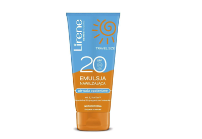 Lirene Moisturizing emulsion fixing the tan SPF20 90ml