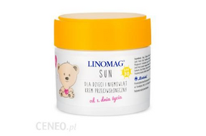 Linomag Sun Protective Cream With Filter Spf30 50ml