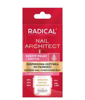 Radical Nail Architect express conditioner for nails 8in1 12ml Farmona