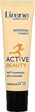 LIRENE Active Beauty foundation 34 Nude 30ml podklad