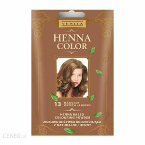 Venita Zok Henna Color Hazelnut 13