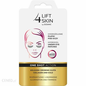 Aa Cosmetics Lift 4 Skin Hydrogel Under-Eye Patches Collagen Gold Hydrogel 2pcs